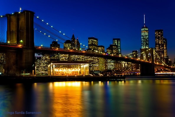 TP Brooklyn Bridge lovely twilight 1 15 15