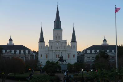 I love this view of Jackson Square and the St. Louis Cathedral!