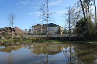 One of the many mansions on the swamp in Slidell.