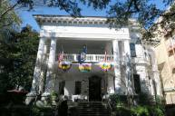 The Columns Hotel is located in the Garden District.